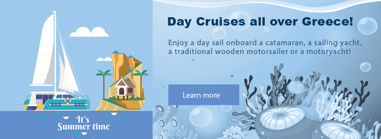 Day Cruises all over Greece!